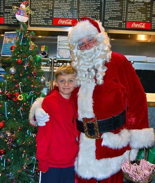 Day 11 Santa at diggers a