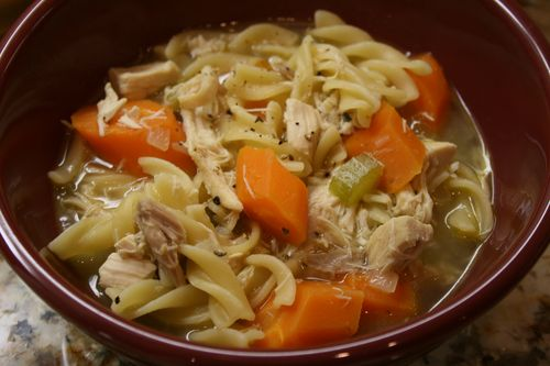 January 6 chicken noodle soup