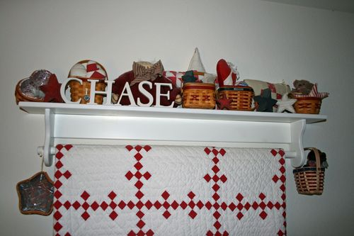 January 8 Chase red white room
