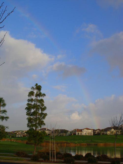 January 13 rainbow