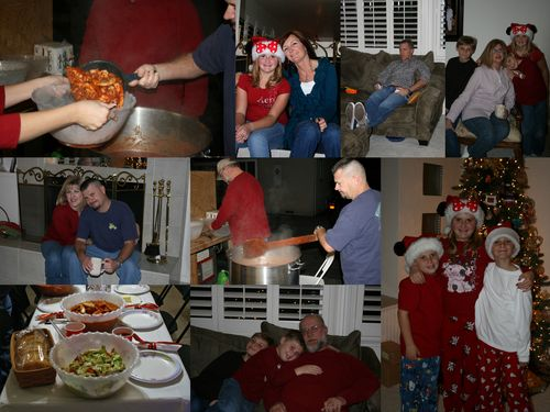 Christmas Eve collage